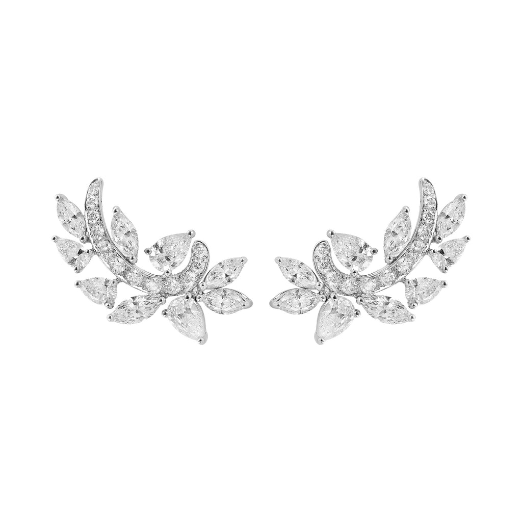 Fundamental / White Gold Earrings FUN-E07