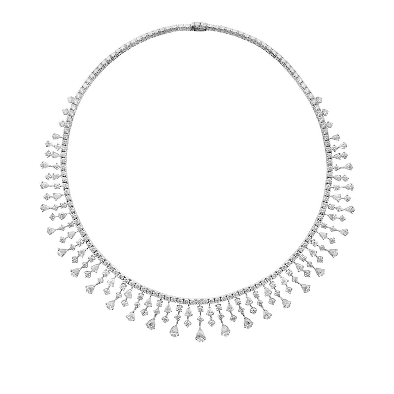 Fundamental / White Gold Necklace FUN-N01