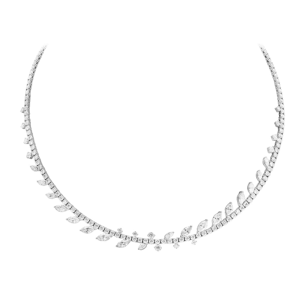Fundamental / White Gold Necklace FUN-N07