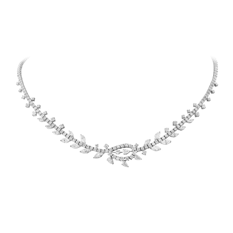 Fundamental / White Gold Necklace FUN-N08