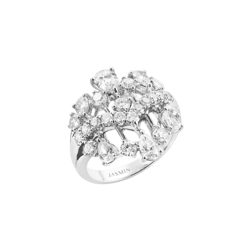 Fundamental / White Gold Ring FUN-R07