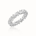 Heart-Eternity Wedding Band