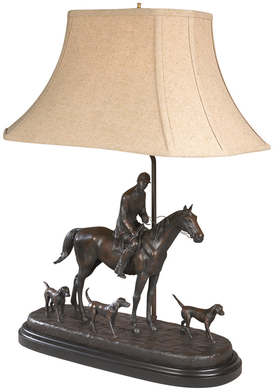 Huntsman and The Hounds Lamp
