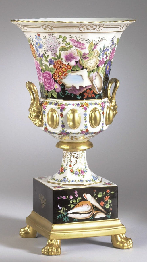 Hand-Painted Covenant Garden Vase