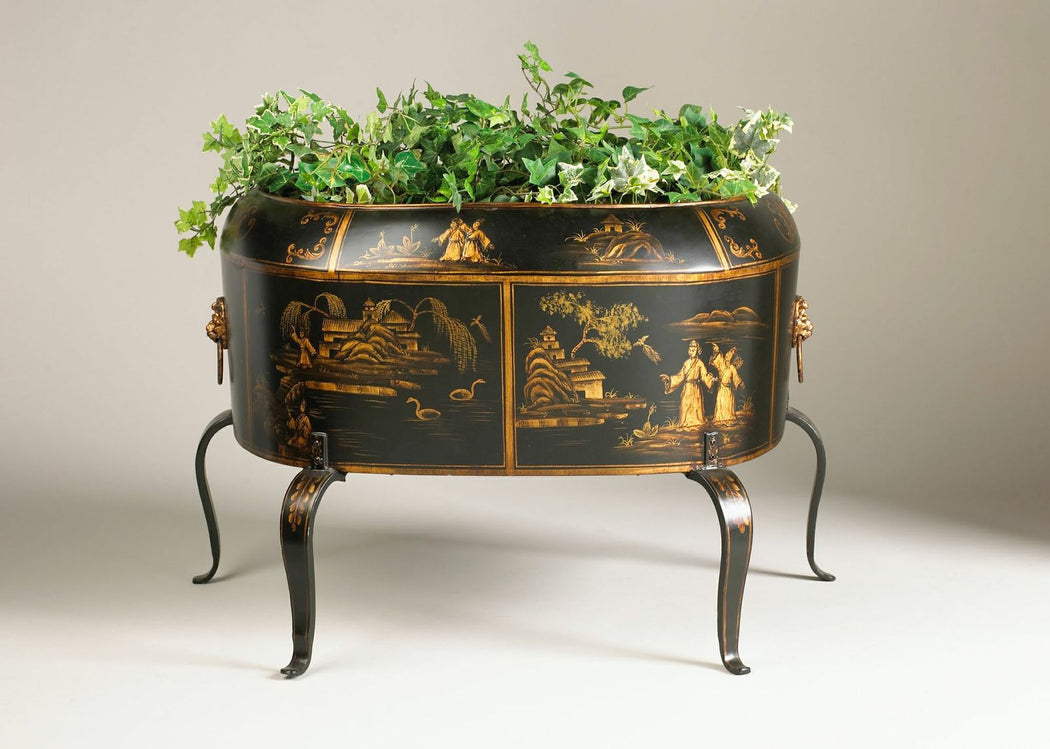 Hand-Painted Ringler Planter