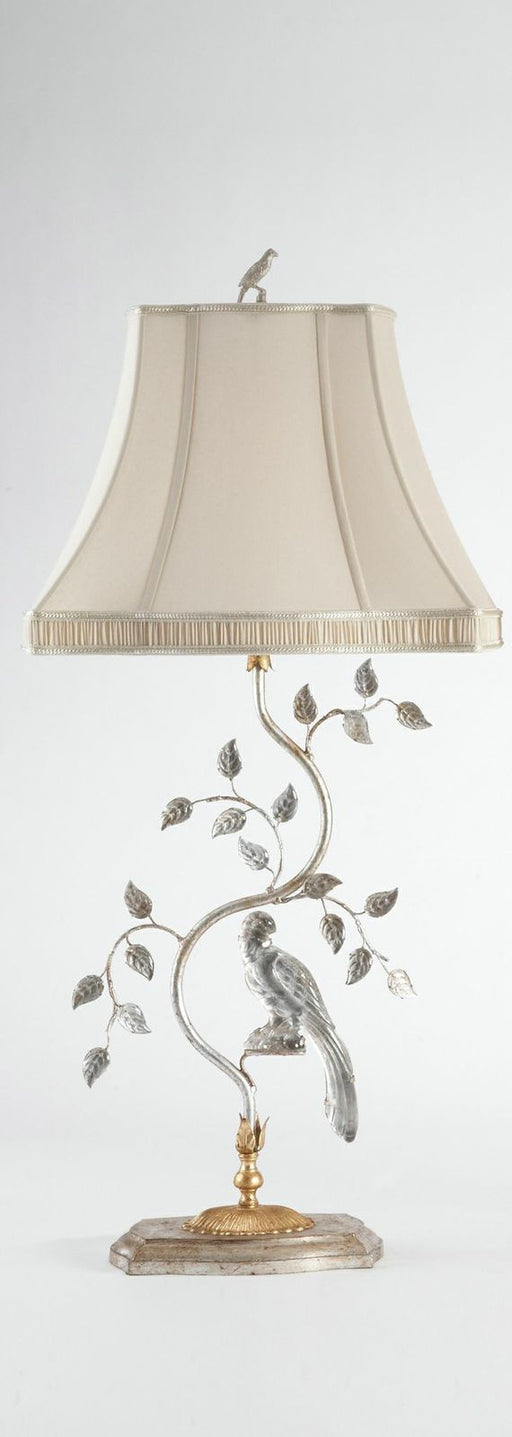 Italian Crystal Bird Lamp (Right)