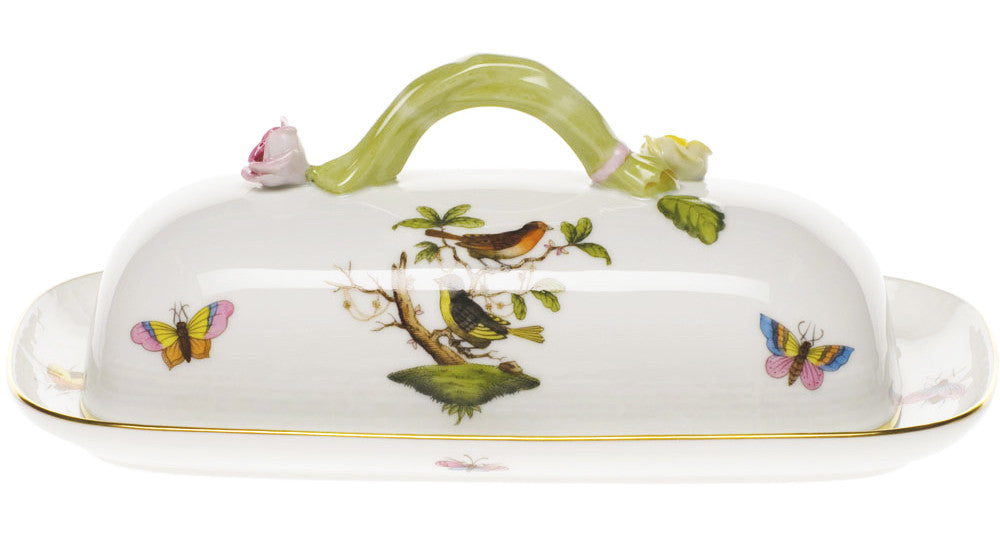 Butter Dish with Branch
