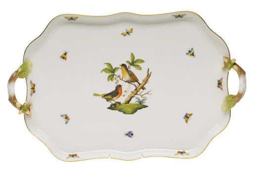 Recreation Tray with Acorn Handles