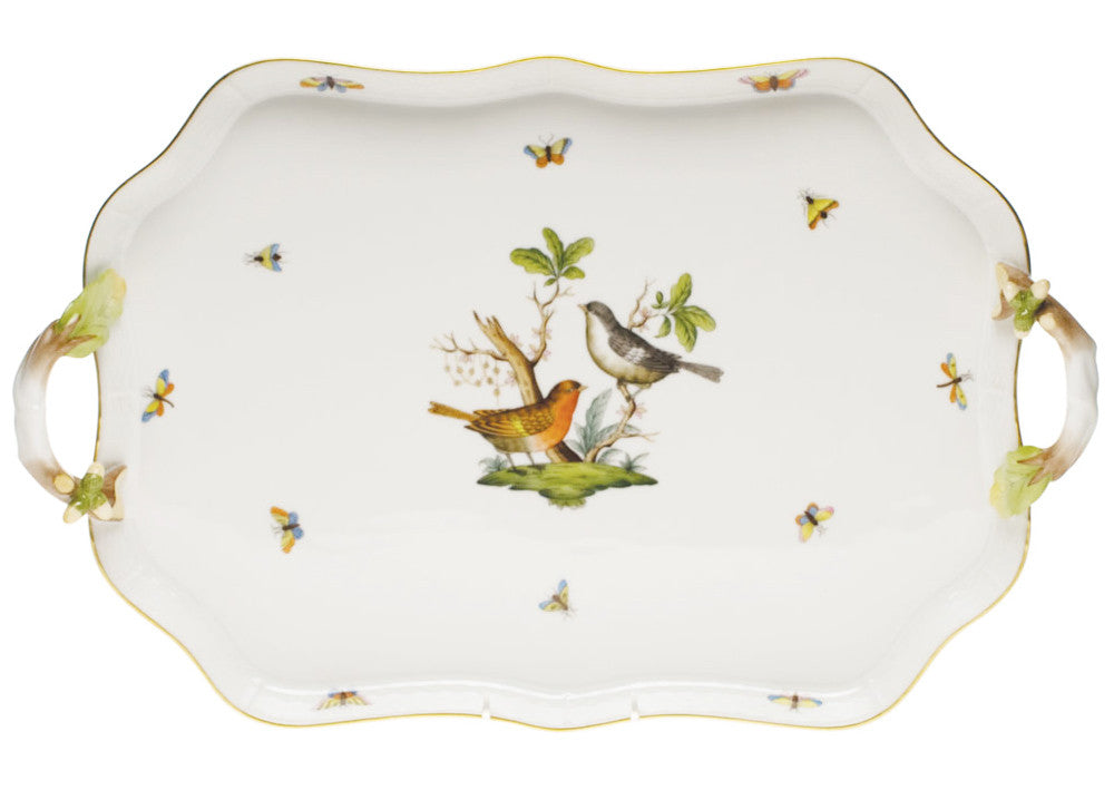 Recreation Tray with Branch Handles