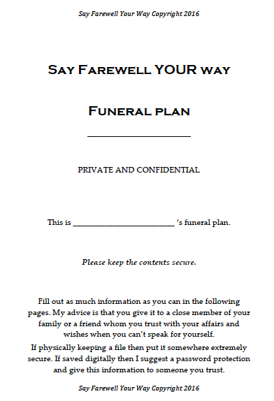 free funeral planner farewell celtic ashes