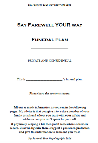 FREE Funeral Planner