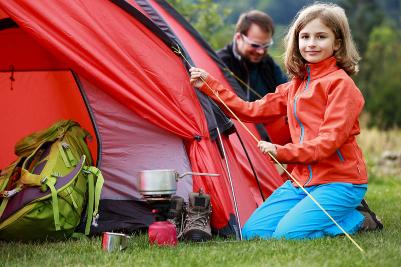 Camping with your kids? These 8 top tips will keep you sane!