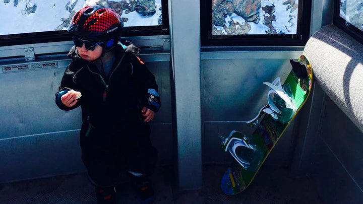 How to Start Your Kids Snowboarding