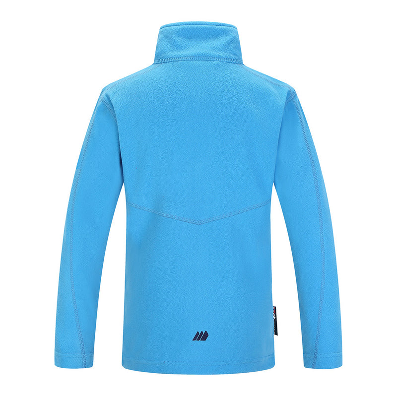 Skogstad Kids Troms Micro Fleece Jacket (Malibu Blue)