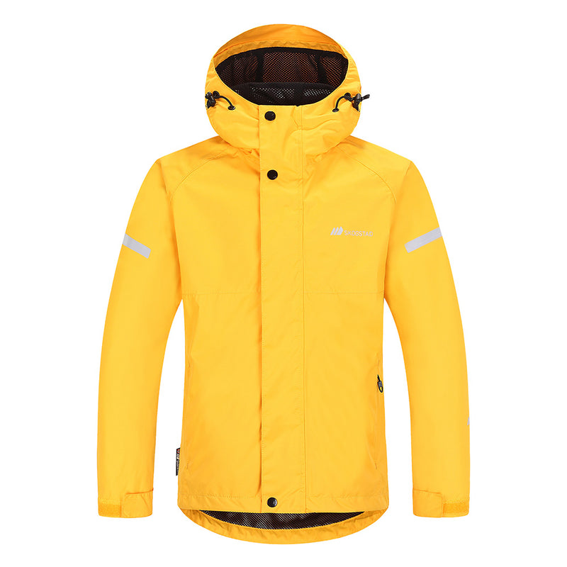 Skogstad Youth Kids Waterproof Jacket (Saffron)