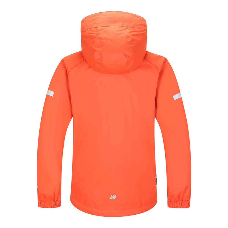 Skogstad Youth Kids Waterproof Jacket (Cherry Tomato)