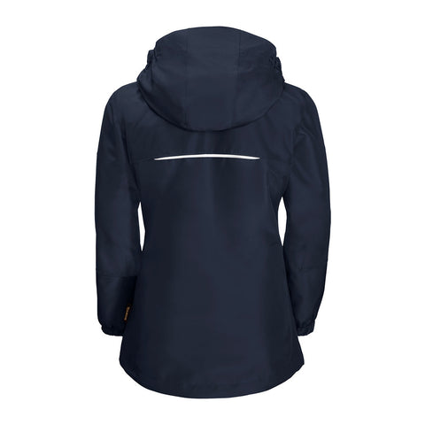 Jack Wolfskin Iceland 3-in-1 Girls Jacket (Midnight Blue)-Little Adventure Shop