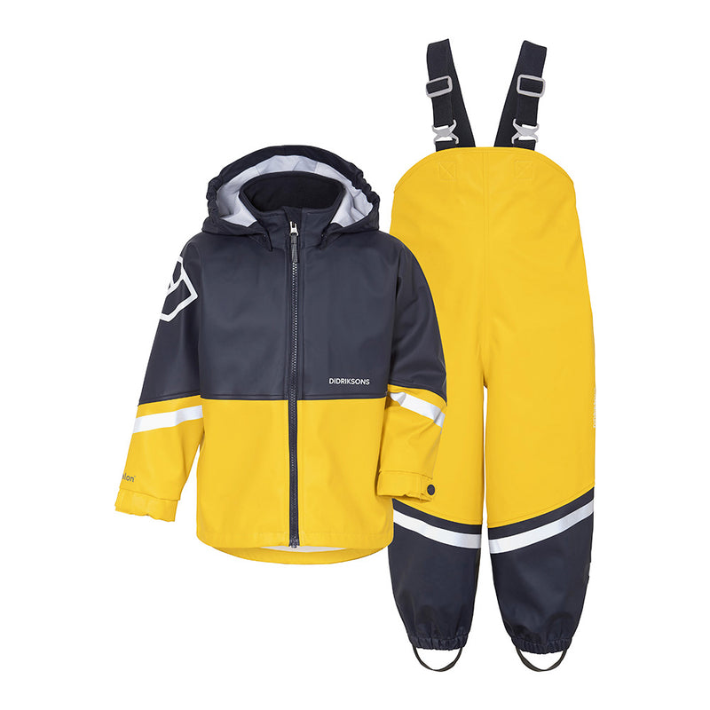 Didriksons Waterproof Slaskeman Sets (Yellow)