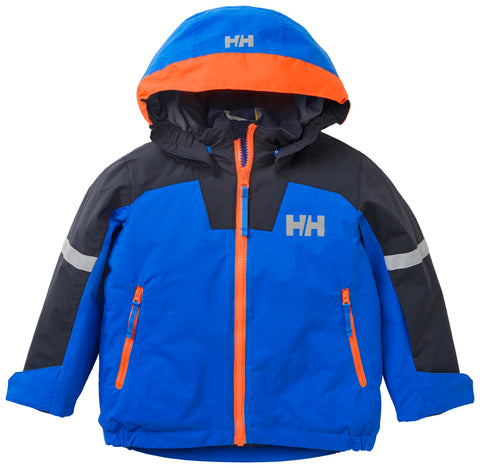 Helly Hansen Kids Legend Insulated Winter Jacket (Sonic Blue)-Little Adventure Shop