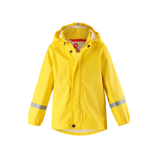 Reima Lampi Kids Waterproof Jacket (Yellow)-Little Adventure Shop