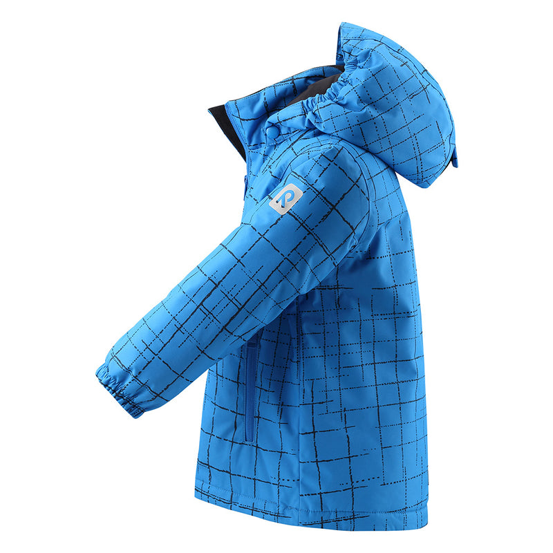 Reima Nuotio Winter Jacket (Brave Blue)-Little Adventure Shop