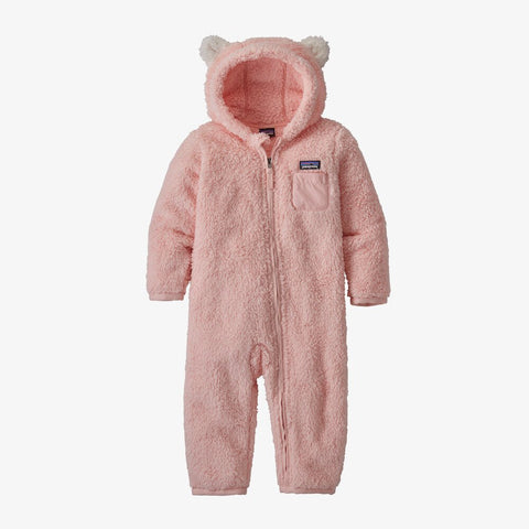 Patagonia Baby Furry Friends Bunting (Seafan Pink)-Little Adventure Shop
