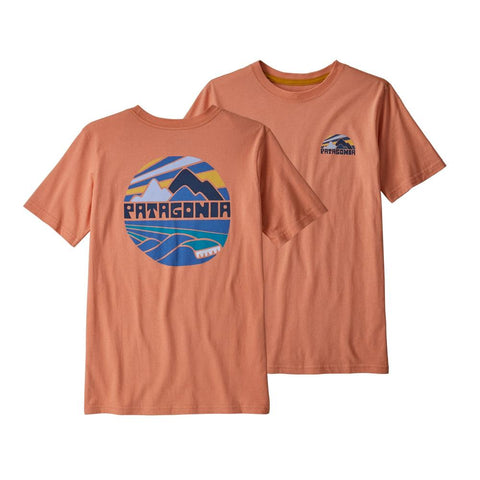 Patagonia Boys Graphic Organic T-Shirt (Fitz Roy Rights)-Little Adventure Shop