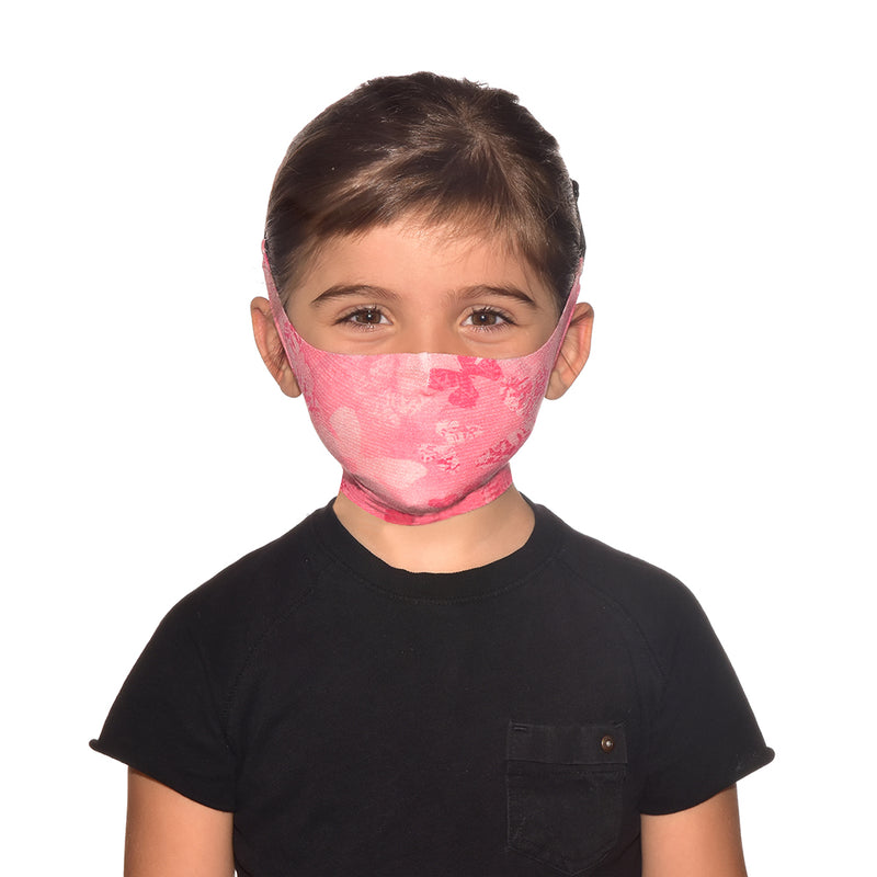 Buff Junior Face Mask (Black and White)