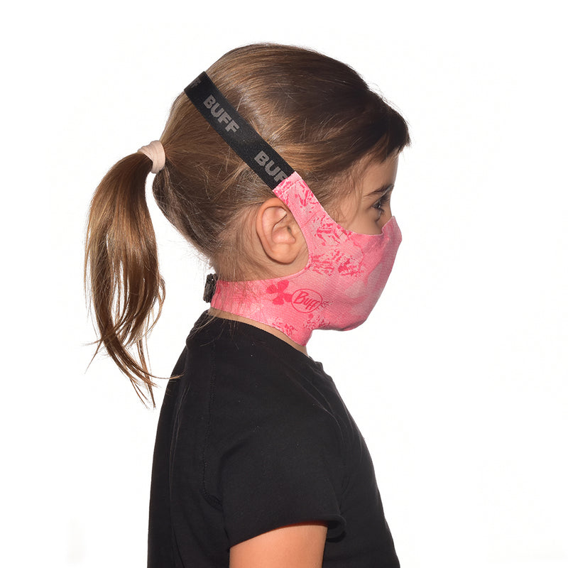 Buff Junior Face Mask (Pink)-Little Adventure Shop