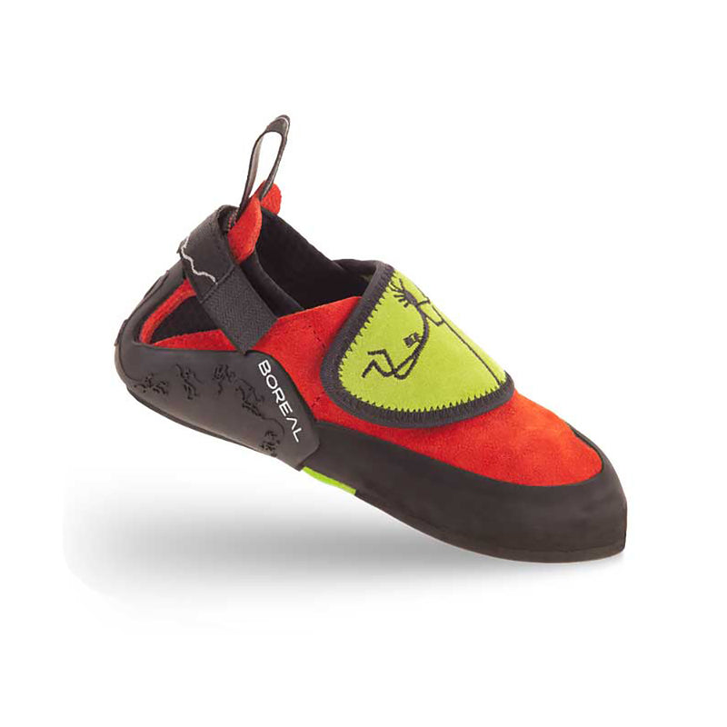 Boreal Ninja Junior Kids Climbing Shoes (Red)-Little Adventure Shop