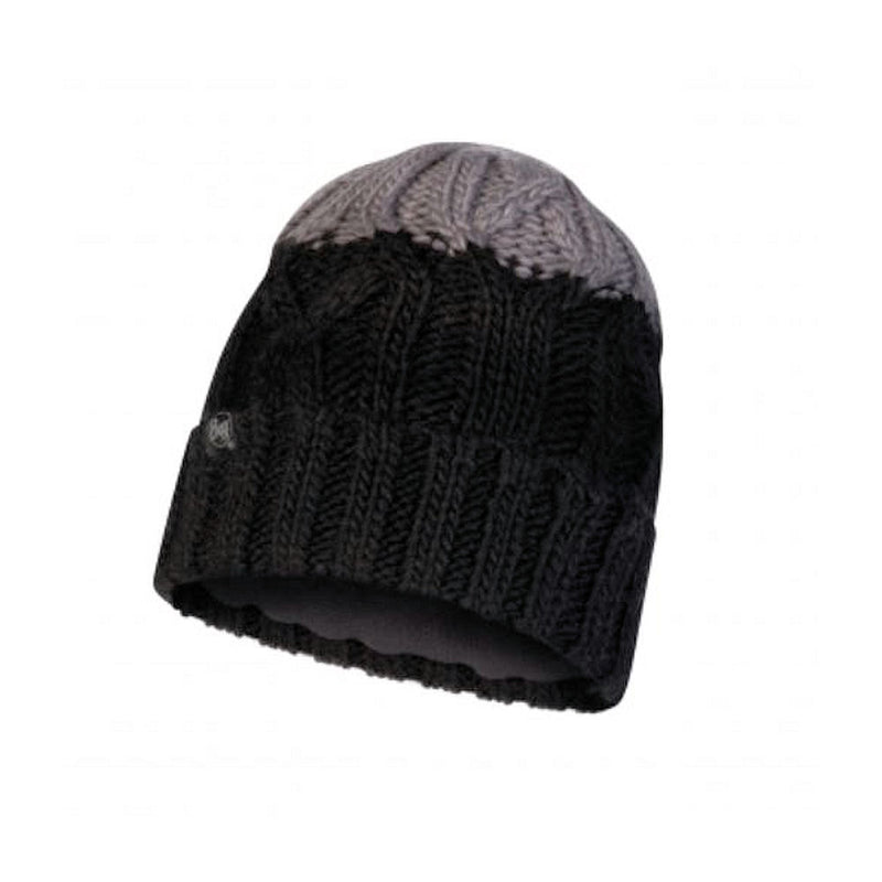 Buff Junior Ganbat Chunky Knit Beanie (Black)-Little Adventure Shop