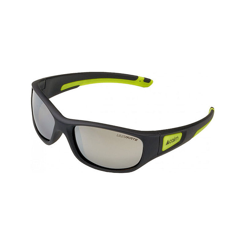 Cairn Play Kids Sunglasses - 4 - 8 years (Black Yellow)-Little Adventure Shop