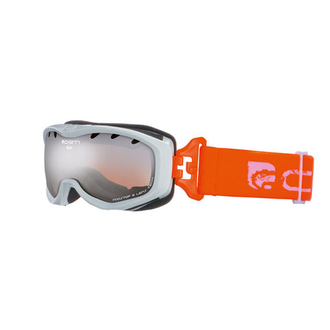 Cairn Rush Kids Ski Goggles 4 - 8 yrs (White)-Little Adventure Shop