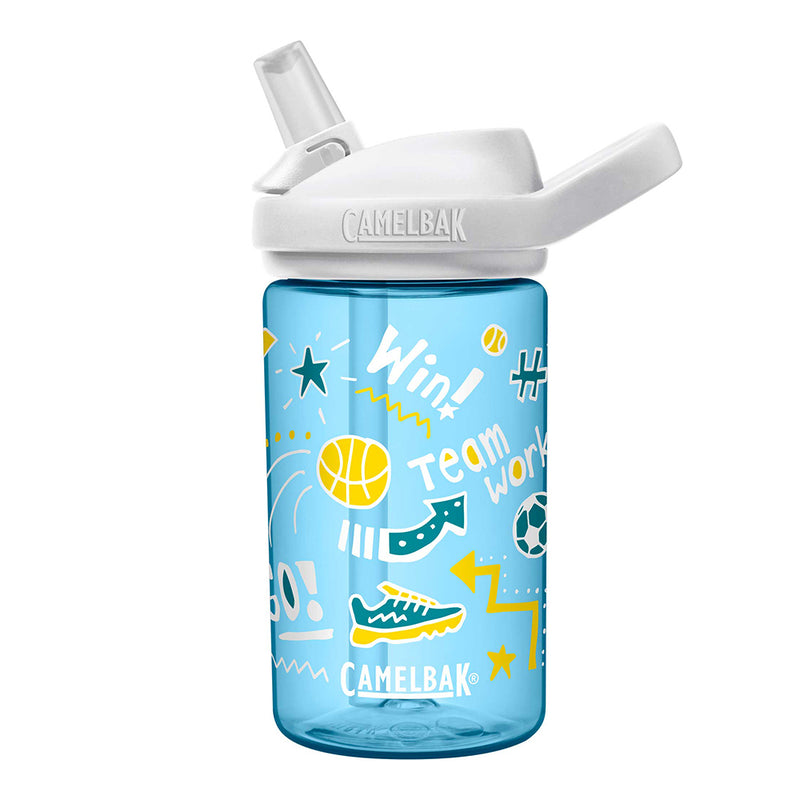 Camelbak Eddy Kids 0.4L Water Bottle (Doodle Sport)-Little Adventure Shop