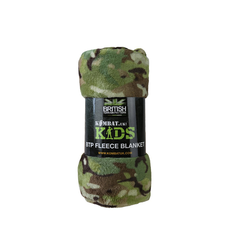 Camouflage Kids Fleece Blanket-Little Adventure Shop