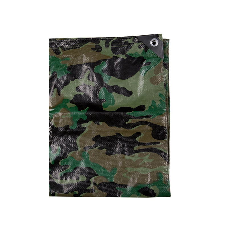 Camouflage Tarpaulin 3 x 2m-Little Adventure Shop