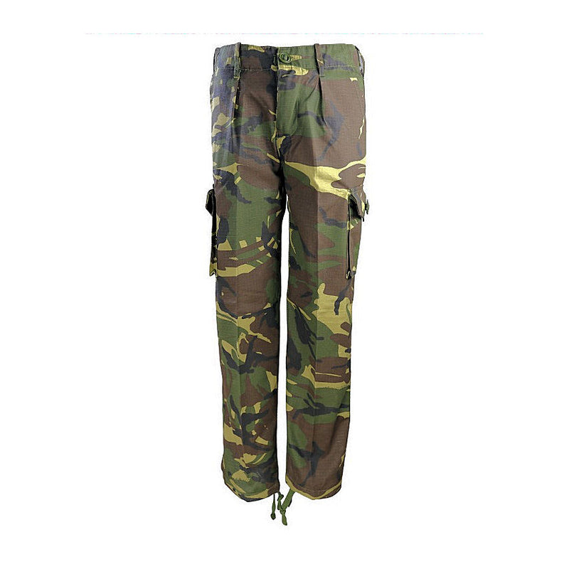 Kids Camo Trousers-Little Adventure Shop