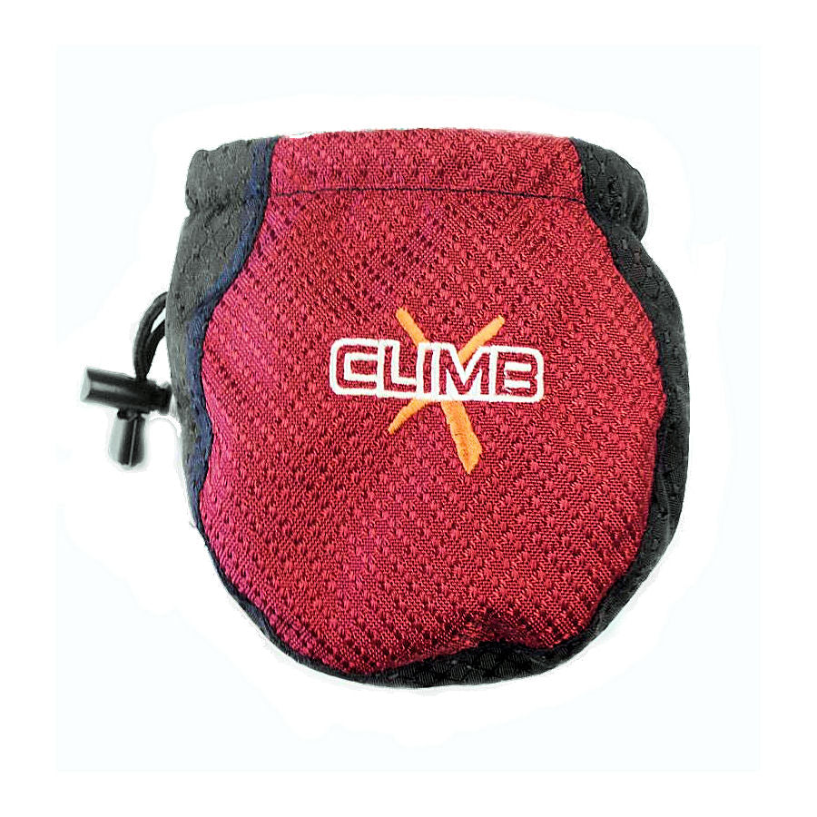 Climb X Kinder Kids Chalk Bag and Belt (Red)