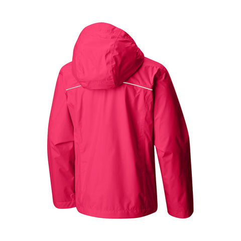 Columbia Girls Arcadia Waterproof Jacket (Punch Pink)-Little Adventure Shop