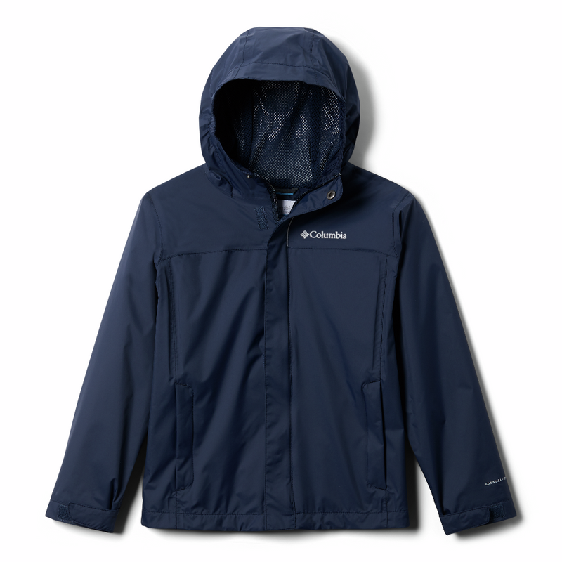 Columbia Kids Watertight Jacket (Collegiate Navy)-Little Adventure Shop