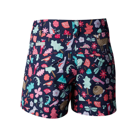 Columbia Girls Silver Ridge Shorts (Nocturnal)-Little Adventure Shop