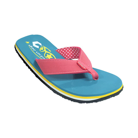 Cool Shoe Eve Slight Girls Flip Flop (Sunkist)-Little Adventure Shop