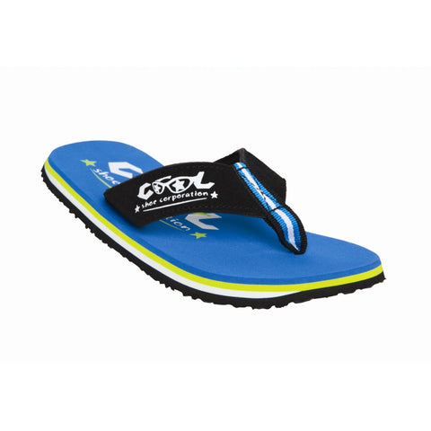 Cool Shoe OS Boy Flip Flop (Blue)-Little Adventure Shop