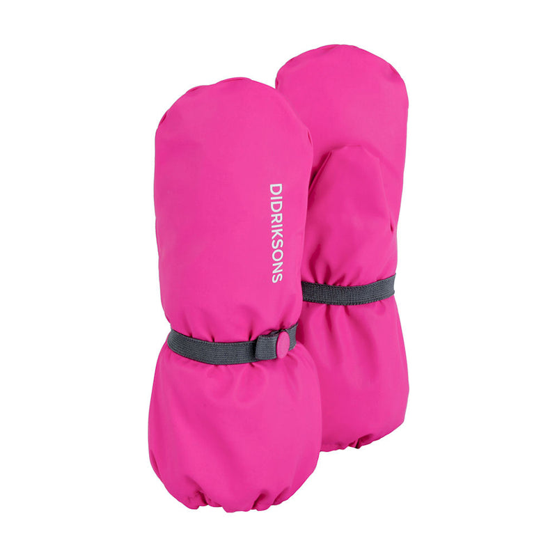 Didriksons Kids Pileglove Mittens (Pink)-Little Adventure Shop