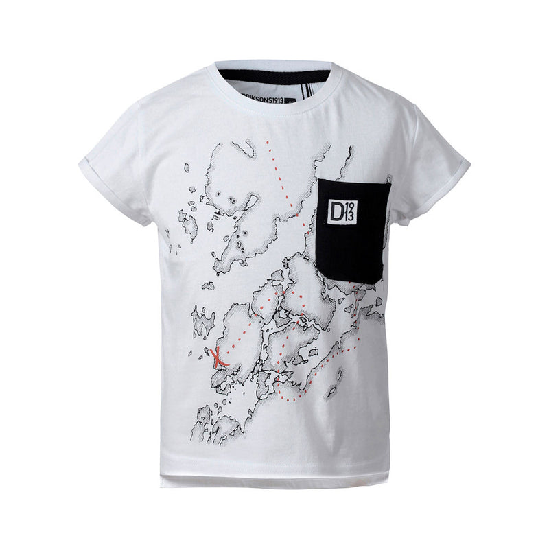 Didriksons Map Kids T-Shirt-Little Adventure Shop