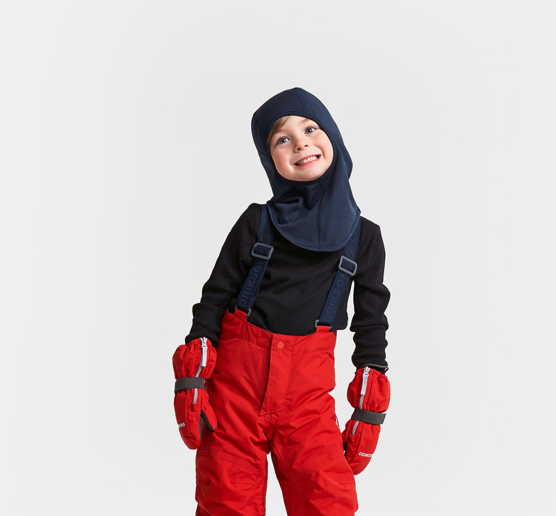 Didriksons Kids Balaclava (Navy)-Little Adventure Shop