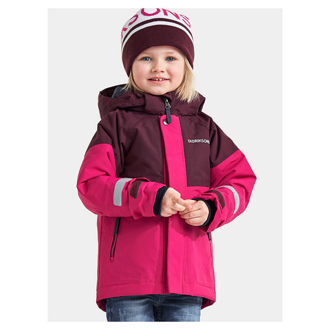 Didriksons Lun Kids Ski Jacket (Lilac)-Little Adventure Shop