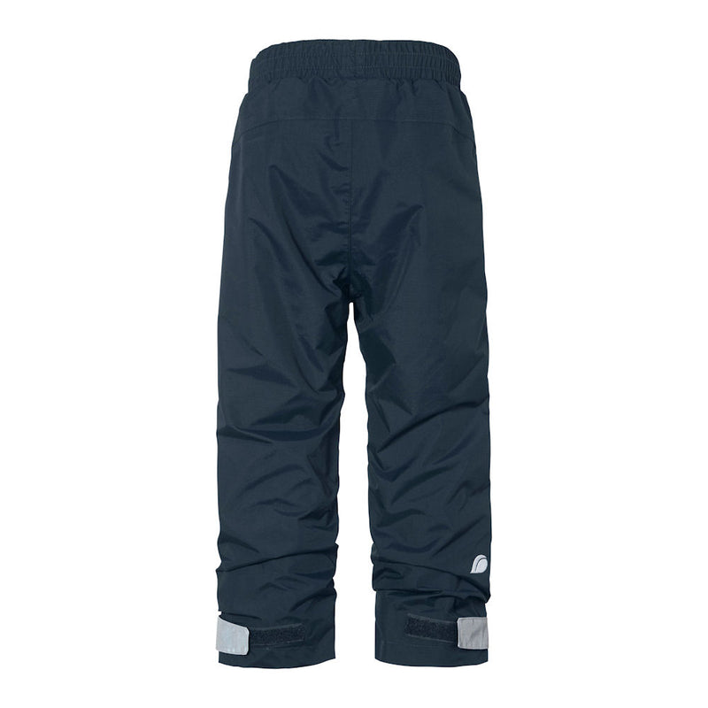 Didriksons Nobi Kids Waterproof Trousers (Navy)-Little Adventure Shop