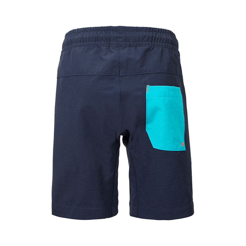 Didriksons Wave Kids Shorts (Navy)-Little Adventure Shop