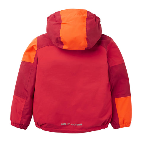 Helly Hansen Kids Rider Insulated Winter Jacket (Raspberry)-Little Adventure Shop